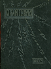 Muncie Central High School - Magician Yearbook (Muncie, IN) online yearbook collection, 1936 Edition, Cover