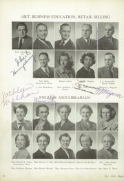Page 14, 1949 Edition, Muncie Central High School - Magician Yearbook (Muncie, IN) online yearbook collection