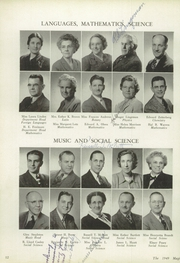 Page 16, 1949 Edition, Muncie Central High School - Magician Yearbook (Muncie, IN) online yearbook collection