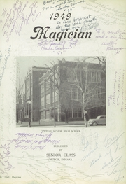 Page 7, 1949 Edition, Muncie Central High School - Magician Yearbook (Muncie, IN) online yearbook collection
