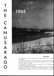 Page 6, 1965 Edition, Muncy High School - Canusarago Yearbook (Muncy, PA) online yearbook collection