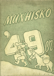 Munhall High School - Munhisko Yearbook (Munhall, PA) online yearbook collection, 1949 Edition, Cover