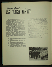 Page 14, 1968 Edition, Munsee (ATF 1077) - Naval Cruise Book online yearbook collection