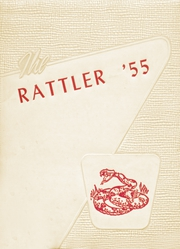 Murfreesboro High School - Rattler Yearbook (Murfreesboro, AR) online yearbook collection, 1955 Edition, Cover