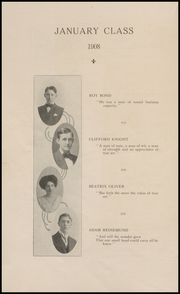 Page 8, 1908 Edition, Muscatine High School - Auroran Yearbook (Muscatine, IA) online yearbook collection