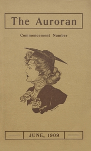 Muscatine High School - Auroran Yearbook (Muscatine, IA) online yearbook collection, 1909 Edition, Cover