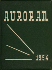 Muscatine High School - Auroran Yearbook (Muscatine, IA) online yearbook collection, 1954 Edition, Cover