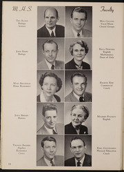 Page 14, 1954 Edition, Muscatine High School - Auroran Yearbook (Muscatine, IA) online yearbook collection