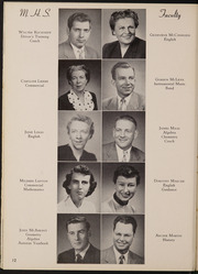 Page 16, 1954 Edition, Muscatine High School - Auroran Yearbook (Muscatine, IA) online yearbook collection