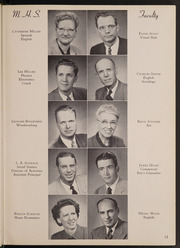 Page 17, 1954 Edition, Muscatine High School - Auroran Yearbook (Muscatine, IA) online yearbook collection