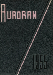 Muscatine High School - Auroran Yearbook (Muscatine, IA) online yearbook collection, 1955 Edition, Cover