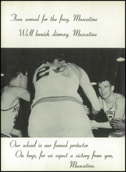 Page 10, 1955 Edition, Muscatine High School - Auroran Yearbook (Muscatine, IA) online yearbook collection