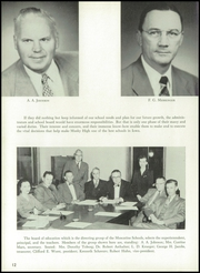 Page 16, 1955 Edition, Muscatine High School - Auroran Yearbook (Muscatine, IA) online yearbook collection