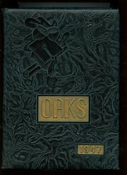 Muskegon Heights High School - Oaks Yearbook (Muskegon Heights, MI) online yearbook collection, 1947 Edition, Cover
