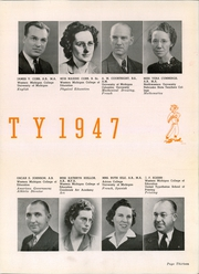Page 17, 1947 Edition, Muskegon Heights High School - Oaks Yearbook (Muskegon Heights, MI) online yearbook collection