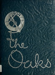 Muskegon Heights High School - Oaks Yearbook (Muskegon Heights, MI) online yearbook collection, 1954 Edition, Cover
