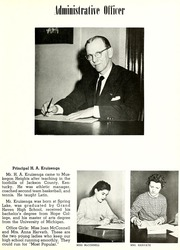 Page 11, 1954 Edition, Muskegon Heights High School - Oaks Yearbook (Muskegon Heights, MI) online yearbook collection