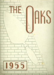 Muskegon Heights High School - Oaks Yearbook (Muskegon Heights, MI) online yearbook collection, 1955 Edition, Cover