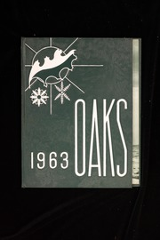 Muskegon Heights High School - Oaks Yearbook (Muskegon Heights, MI) online yearbook collection, 1963 Edition, Cover