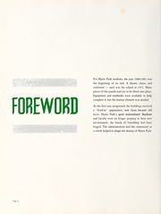 Page 10, 1961 Edition, Myers Park High School - Mustang Yearbook (Charlotte, NC) online yearbook collection