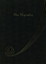 Myerstown High School - Myrialog Yearbook (Myerstown, PA) online yearbook collection, 1950 Edition, Cover