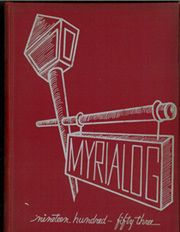 Myerstown High School - Myrialog Yearbook (Myerstown, PA) online yearbook collection, 1953 Edition, Cover