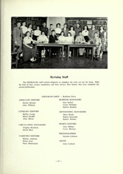 Page 9, 1953 Edition, Myerstown High School - Myrialog Yearbook (Myerstown, PA) online yearbook collection