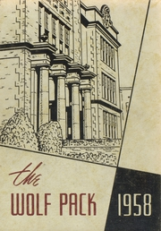 N R Crozier Technical High School - Wolf Pack Yearbook (Dallas, TX) online yearbook collection, 1958 Edition, Cover
