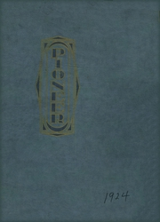 Naches Valley High School - Pioneer Yearbook (Naches, WA) online yearbook collection, 1924 Edition, Cover