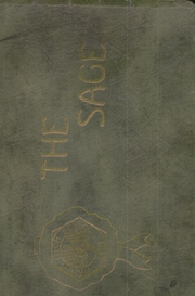 Nampa High School - Sage Yearbook (Nampa, ID) online yearbook collection, 1921 Edition, Cover