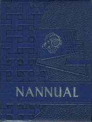 Nanticoke High School - Nannual Yearbook (Nanticoke, PA) online yearbook collection, 1959 Edition, Cover