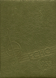 Nanty Glo High School - Echo Yearbook (Nanty Glo, PA) online yearbook collection, 1953 Edition, Cover