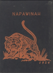 Napavine High School - Napawinah Yearbook (Napavine, WA) online yearbook collection, 1954 Edition, Cover