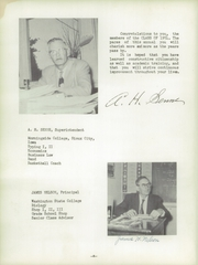 Page 8, 1954 Edition, Napavine High School - Napawinah Yearbook (Napavine, WA) online yearbook collection