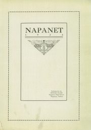 Nappanee High School - Napanet Yearbook (Nappanee, IN) online yearbook collection, 1924 Edition, Page 5