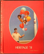 Nathan Hale High School - Heritage Yearbook (Seattle, WA) online yearbook collection, 1978 Edition, Cover