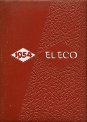 Nathaniel Narbonne High School - El Eco Yearbook (Harbor City, CA) online yearbook collection, 1954 Edition, Cover