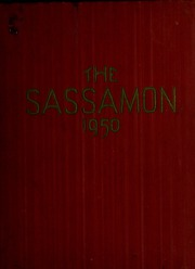 Natick High School - Sassamon Yearbook (Natick, MA) online yearbook collection, 1950 Edition, Cover
