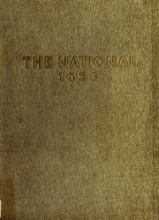National Louis University - National Yearbook (Chicago, IL) online yearbook collection, 1936 Edition, Cover