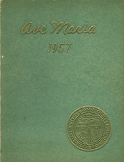 Nativity BVM High School - Ave Maria Yearbook (Pottsville, PA) online yearbook collection, 1957 Edition, Cover