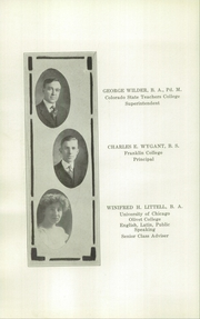 Page 16, 1919 Edition, Natrona County High School - Mustang Yearbook (Casper, WY) online yearbook collection