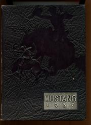 Natrona County High School - Mustang Yearbook (Casper, WY) online yearbook collection, 1937 Edition, Cover