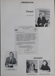 Page 9, 1966 Edition, Nauset Regional High School - Nauset Tides Yearbook (North Eastham, MA) online yearbook collection