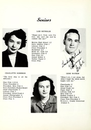 Page 14, 1950 Edition, Nebo High School - Pioneer Yearbook (Nebo, NC) online yearbook collection