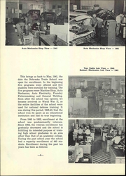 Page 10, 1961 Edition, Nebraska Vocational Technical School - Technician Yearbook (Milford, NE) online yearbook collection