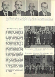 Page 14, 1961 Edition, Nebraska Vocational Technical School - Technician Yearbook (Milford, NE) online yearbook collection