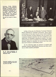 Page 15, 1961 Edition, Nebraska Vocational Technical School - Technician Yearbook (Milford, NE) online yearbook collection