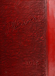 Nebraska Wesleyan University - Plainsman Yearbook (Lincoln, NE) online yearbook collection, 1939 Edition, Cover
