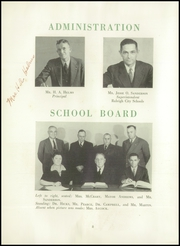 Page 12, 1945 Edition, Needham Broughton High School - Latipac Yearbook (Raleigh, NC) online yearbook collection