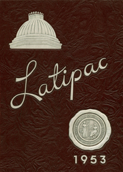 Needham Broughton High School - Latipac Yearbook (Raleigh, NC) online yearbook collection, 1953 Edition, Cover